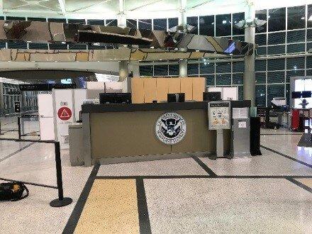 International Airport in Texas